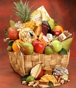 Legacy Fruit and Gourmet Gift Basket