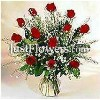 Valentine's Day Gifts for Women - One Dozen Red Roses Arranged