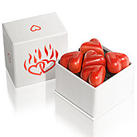 Love Box With Heart-Shaped Chocolates
