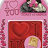 Valentine's Day Gifts for Men & Women - I Love You Toast Stamper